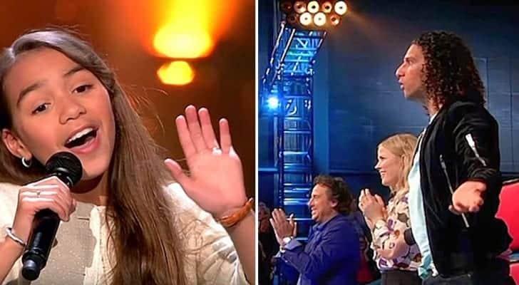 Nici nu a inceput bine sa cante si deja juratii nu mai stiau cum sa reactioneze!!!