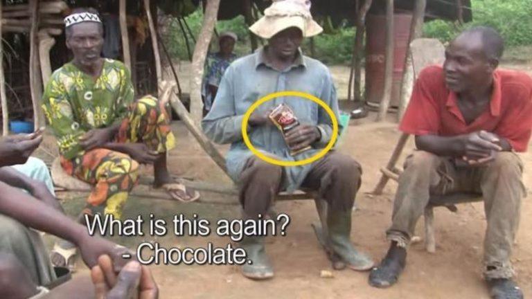 Au cules toata viata fructe de Cacao insa nu au mancat niciodata ciocolata!! Reactia lor cand gusta pentru prima data este greu de descris!