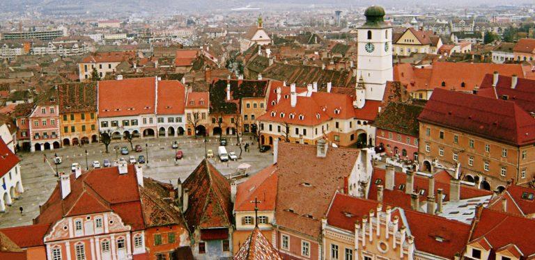 Sibiu, orasul care atrage anual mii de vizitatori!!
