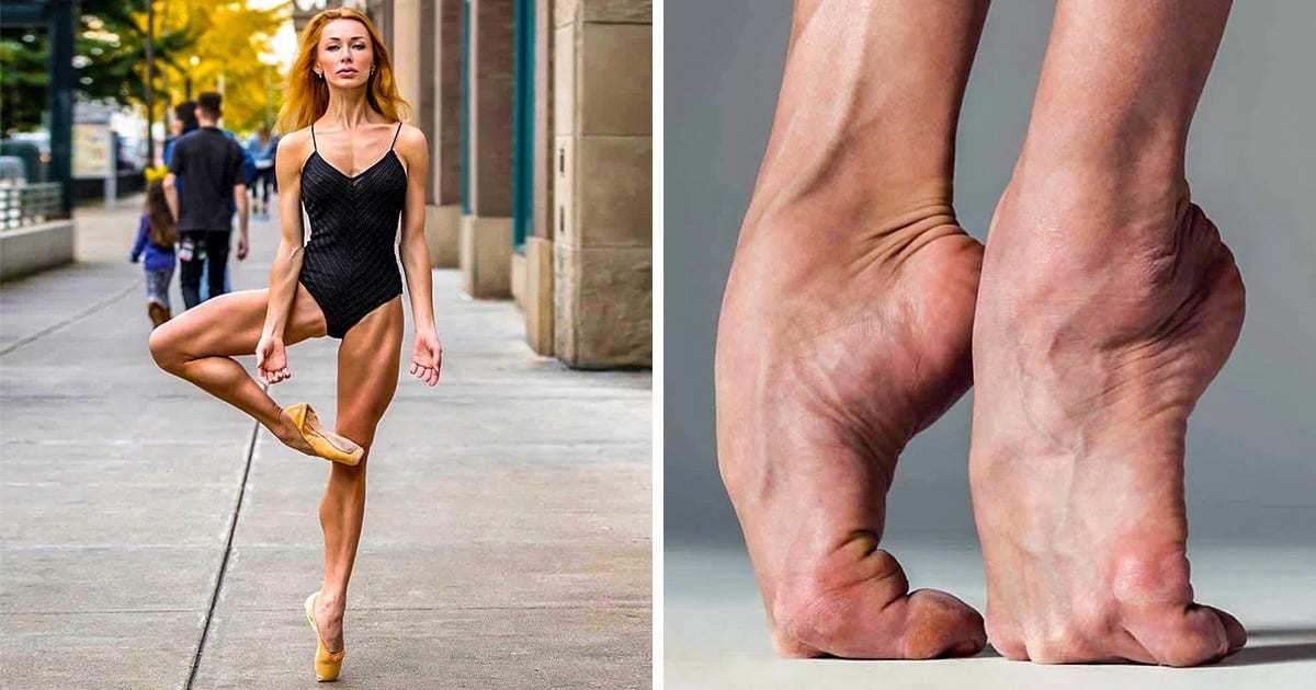 Baletul nu este o poanta! 10 poze care arată cât de puternice pot fi de fapt firavele balerine
