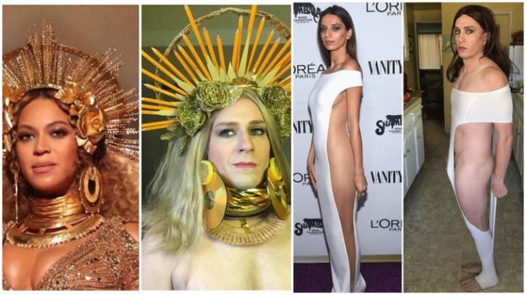 20 de parodii amuzante cu celebrități făcute de același om!
