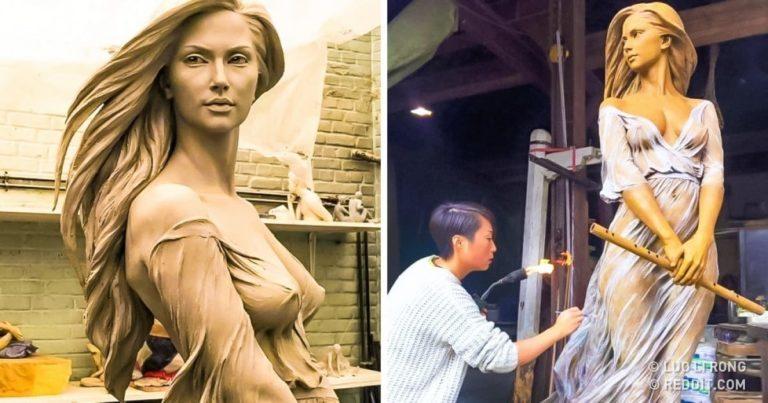 17  sculpturi care sunt prea frumoase pentru această lume