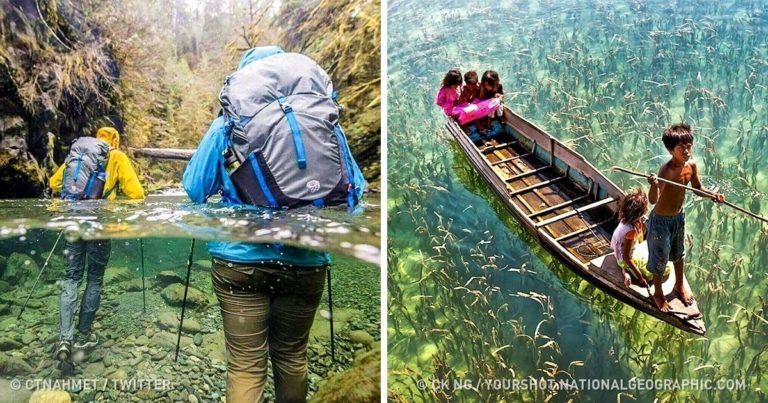 20 de peisaje unde natura a stiut sa ne surprinda
