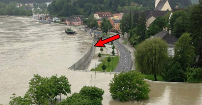 Metoda eficientă pusă în aplicare in Austria, pentru a scăpa de inundatii!