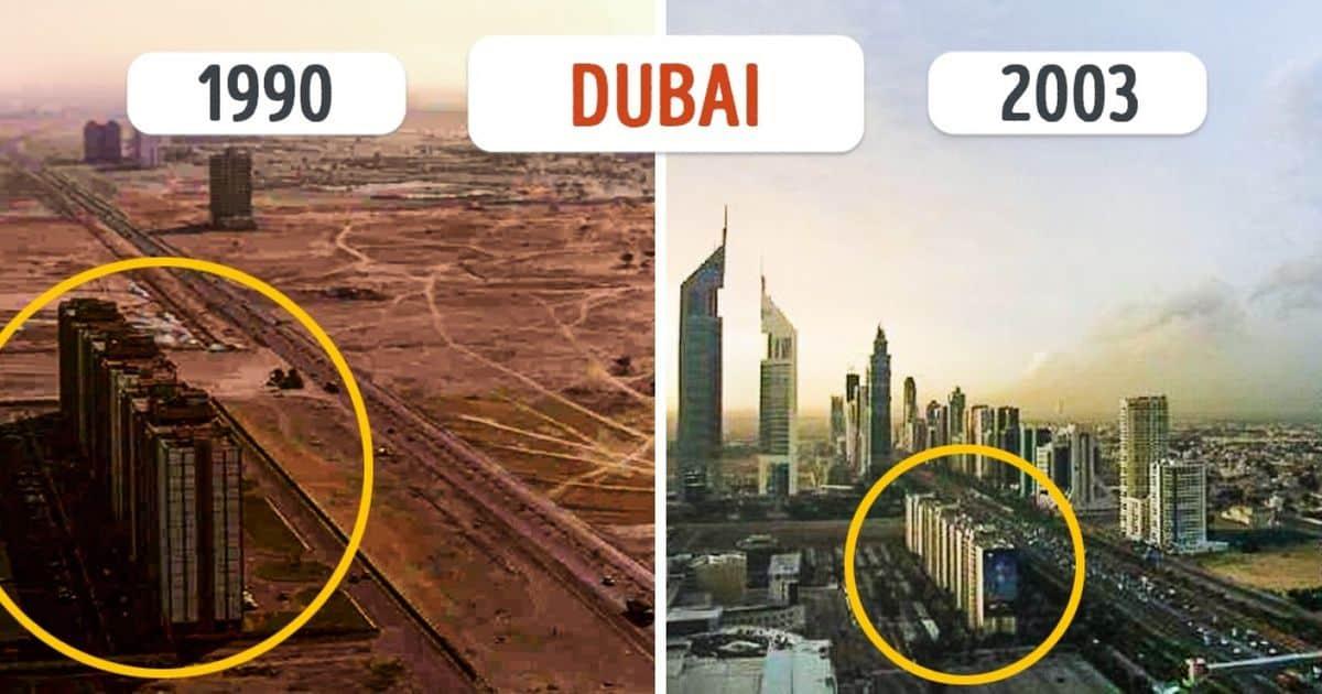 10 orașe incredibile care s-au schimbat atât de mult, încât nu le mai recunoști