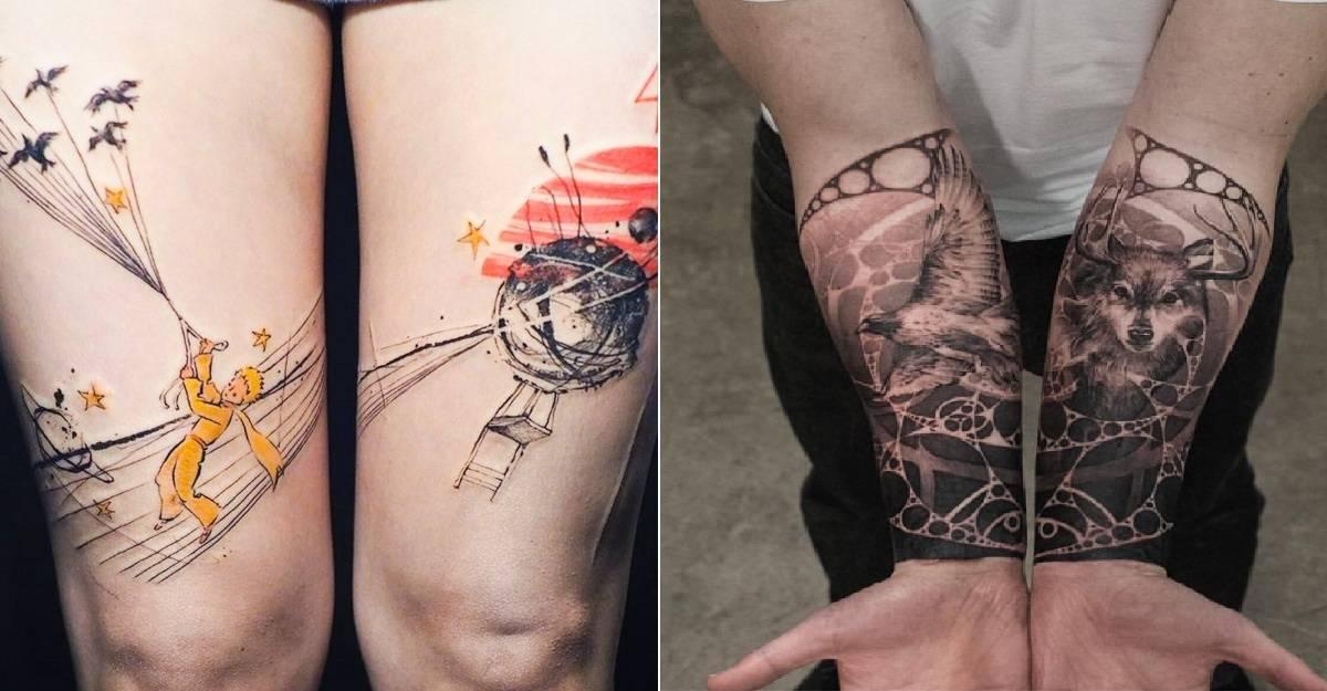 23 de tatuaje despărțite care sunt adevarate opere de arta