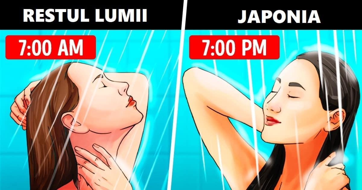 Care este motivul pentru care japonezii fac o baie fierbinte seara si ce efecte are asupra sanatatii noastre