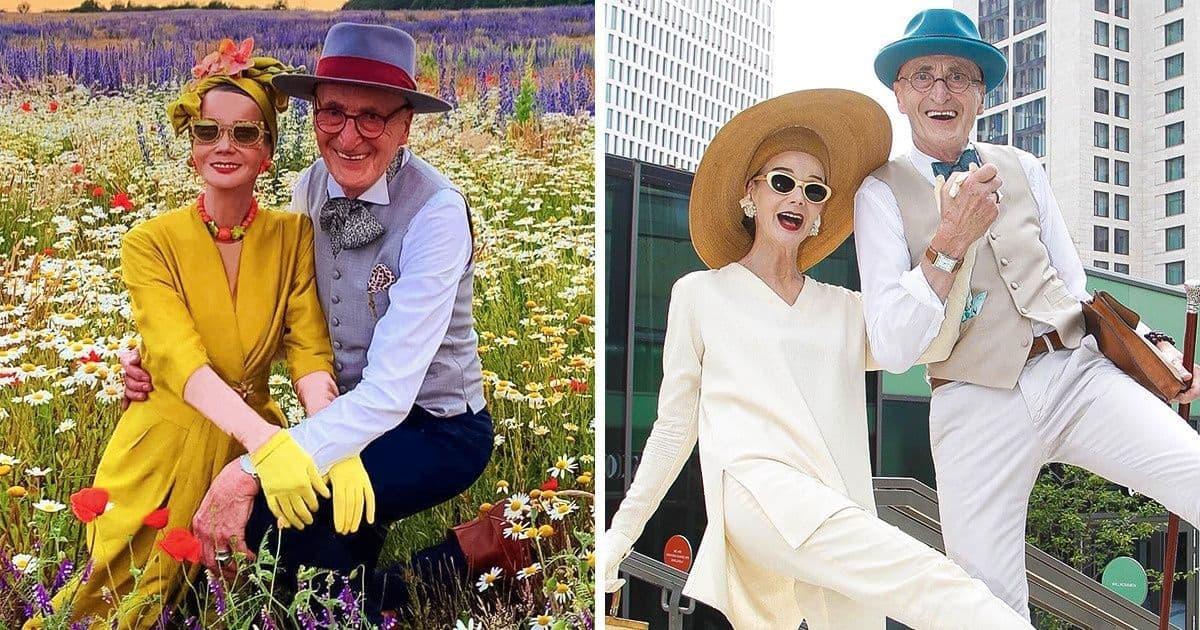 """Desi au trecut de 60 de ani acest cuplu din Germania ofera o lectie de eleganta tutoror tinerilor care se cred """"la moda"""""""